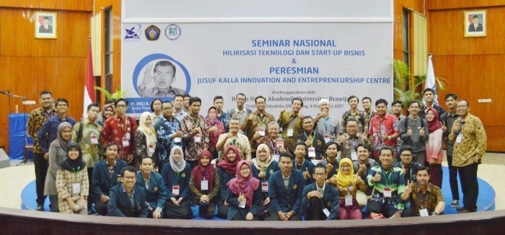 Seminar Nasional Hilirisasi Inovasi Teknologi dan Startup Bisnis