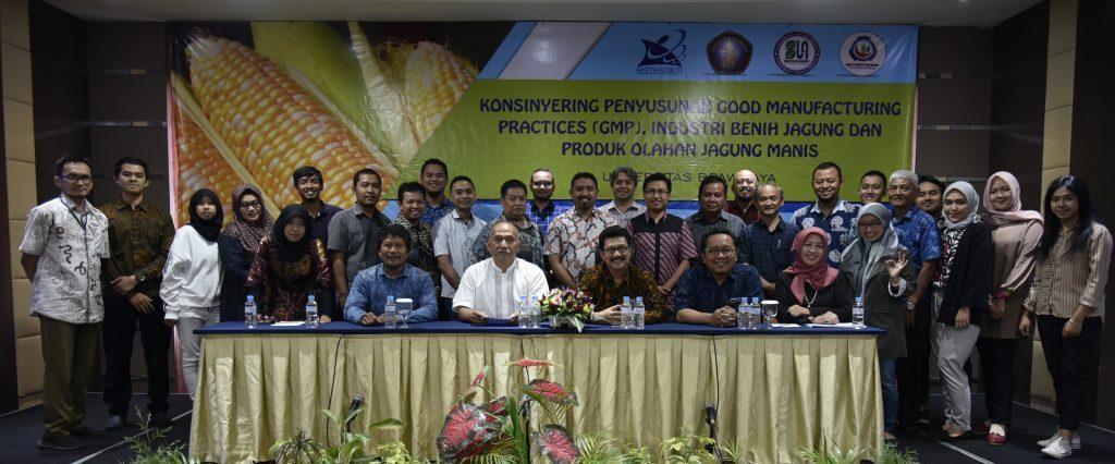 Konsinyering Penyusunan Good Manucfaturing Practices (GMP), Industri benih dan pengolahan jagung manis